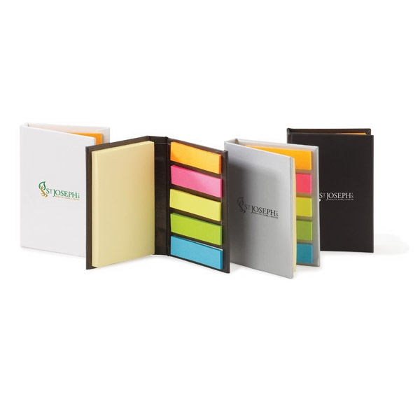Easi-notes (r) - Non-refillable Hard Cover Mini Box With Adhesive Pads Photo