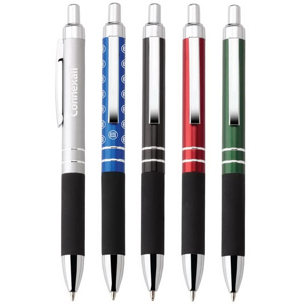 Harvard - Aluminum Ballpoint Pen With Push-action Function And Translucent Metallic Finish Photo