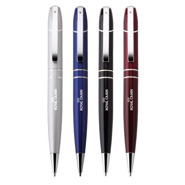 Paxton - Twist Action Ballpoint Aluminum Pen With Metallic Barrel Photo