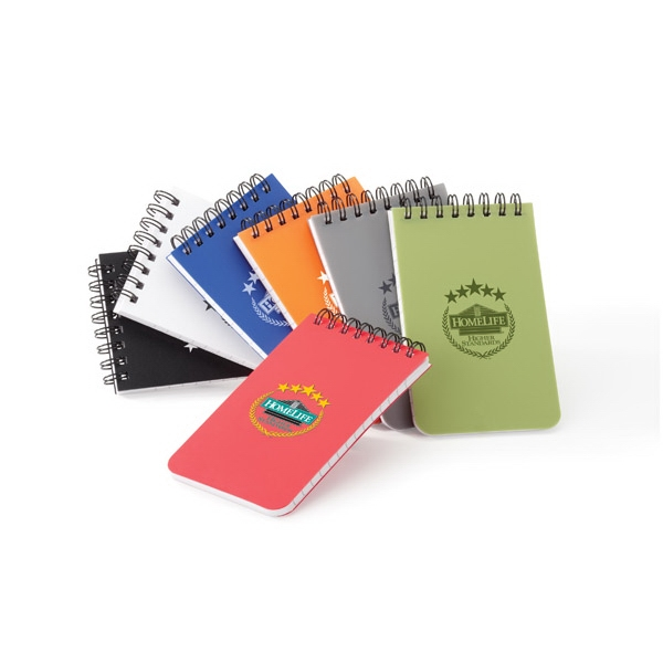 Colorplay - Polypropylene Memo Book With Double Spiral Binding Photo