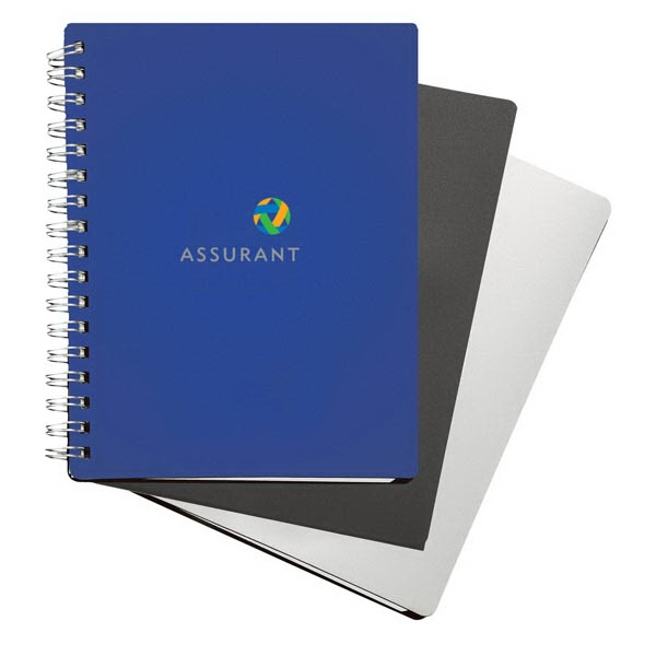 Polypropylene Notebook With 80 White Lined Sheets Photo