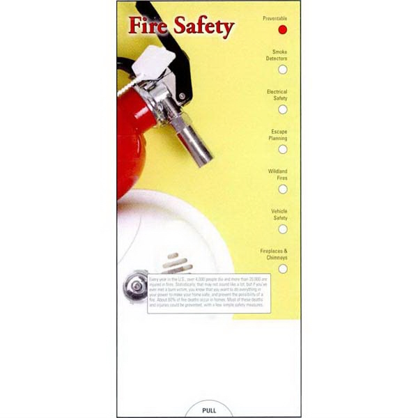 Pocket Guide Tips For Fire Safety. Plan An Escape, Know The Rules And Prevention Photo