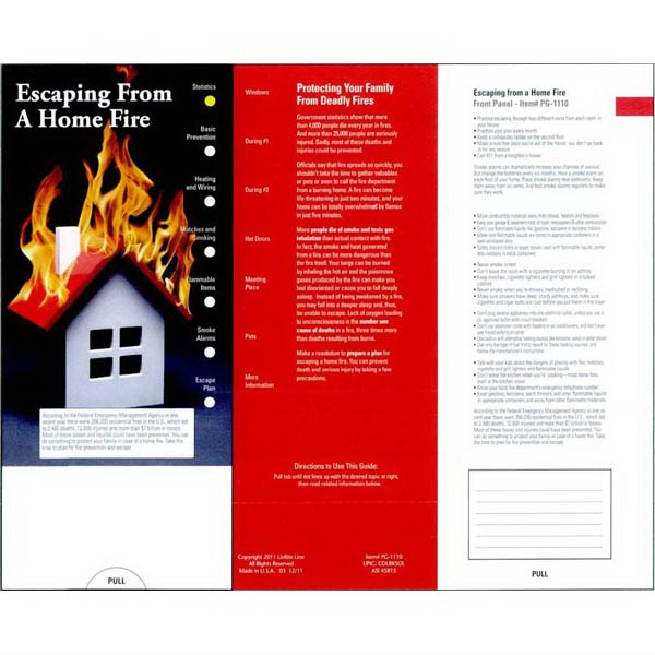 These Pocket Guide Tips Will Help You Plan An Escape Route In Case Of A Fire Photo