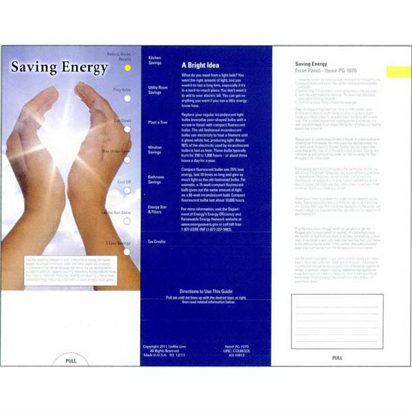 Learn About Recycling And Saving Money With This Pocket Guide About Energy Saving Photo