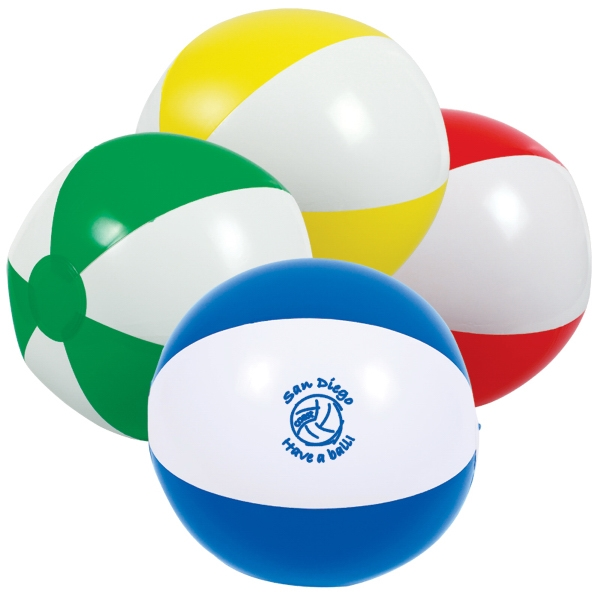 "Two-tone Beach Ball, 16"" Photo"