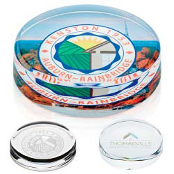 Jaffa (r) Collection - Round Paperweight Photo