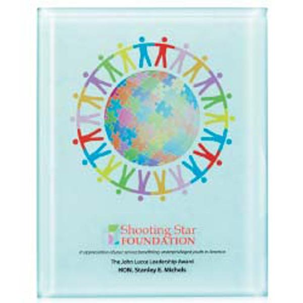 """Radiant Trillinnium Award Plaque - 8"""" x 10"""""""