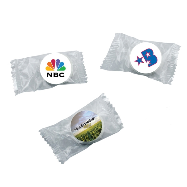 Candy King - Individually Wrapped Life Savers. Breath Mint Life Savers With Four Color Decal Photo