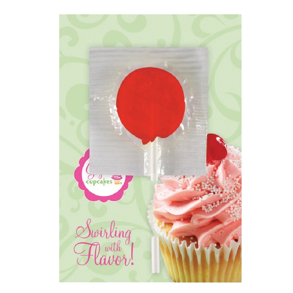 Book Cards - Lollipop Card Photo