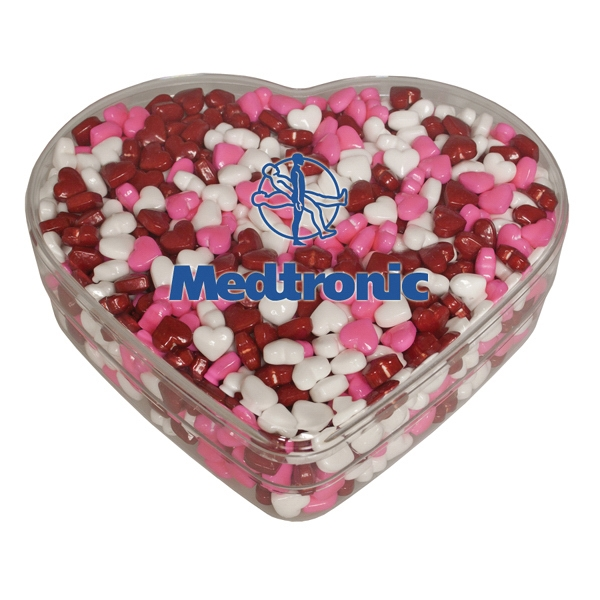 Branded Candy Hearts Tin