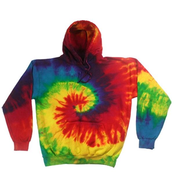 Reactive Rainbow Hoodie