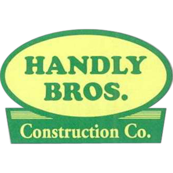 "White Reflective - 3"" X 2"" Spot-printed Hard Hat Decal With Permanent Adhesive Photo"