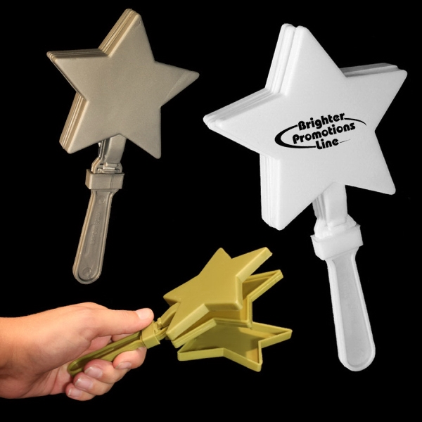 "7"" Star Shaped Hand Clapper Photo"