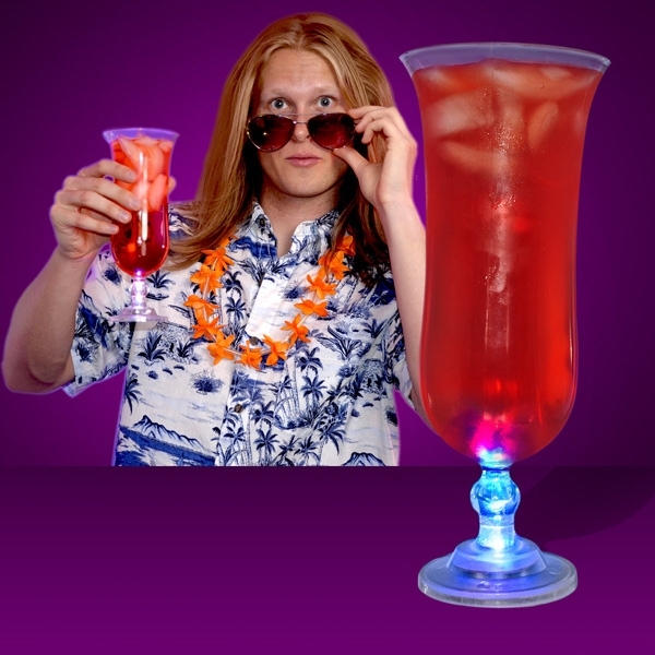 Light Up Hurricane Glasses
