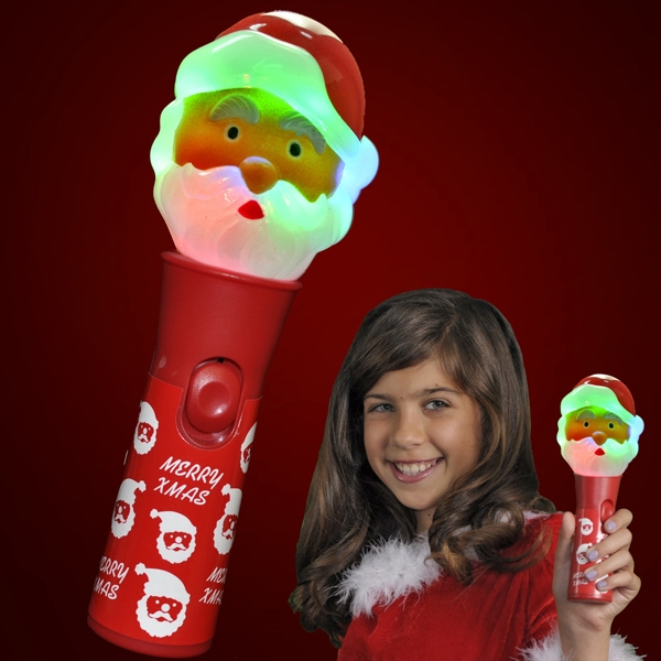 LED Santa Toy Christmas Wands