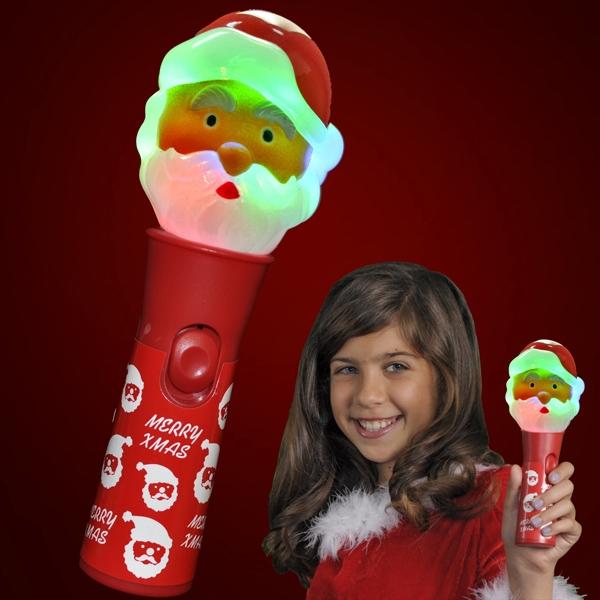 LED Santa Toy Christmas Wands