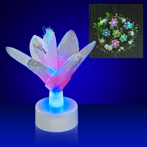 Light Up Flower Decorations