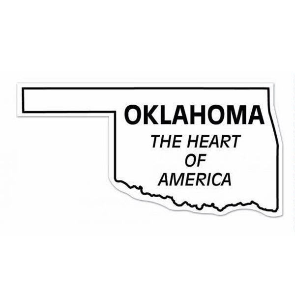 20 Mil - Magnet - Oklahoma. Digital 4 Color Process Print; Stock 20 Mil; 30 & 50 Mil Photo