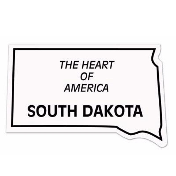 20 Mil - Magnet - South Dakota - Full Color. Digital 4cp Print; Stock 20 Mil; 30 & 50 Mil Photo