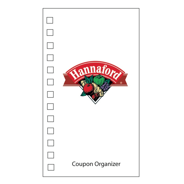 Coupon Organizer With A Four Color Process Imprint On The Cover Photo