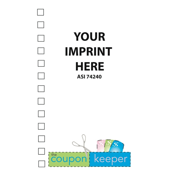 Coupon Organizer With A 4 Color Process The Coupon Keeper Logo Design On The Cover Photo