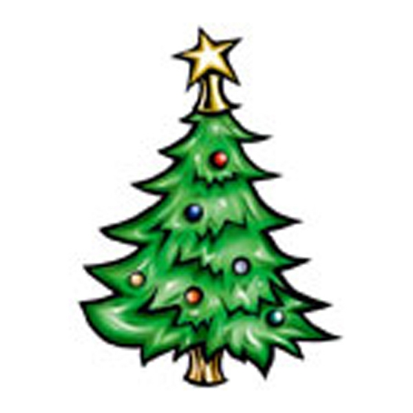 X Mas Tree, Stock Tattoo Designs Photo