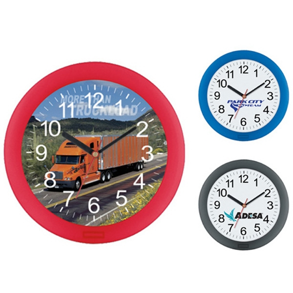 "10"" Basic Wall Clock Photo"