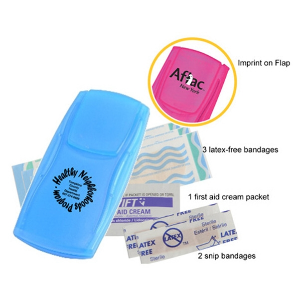 Basic Ready Cut Kit With Bandages And First Aid Cream Photo
