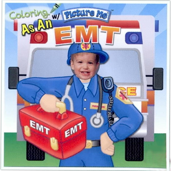 Coloring With Picture Me(r) - Children's Coloring Book As An Emt Photo