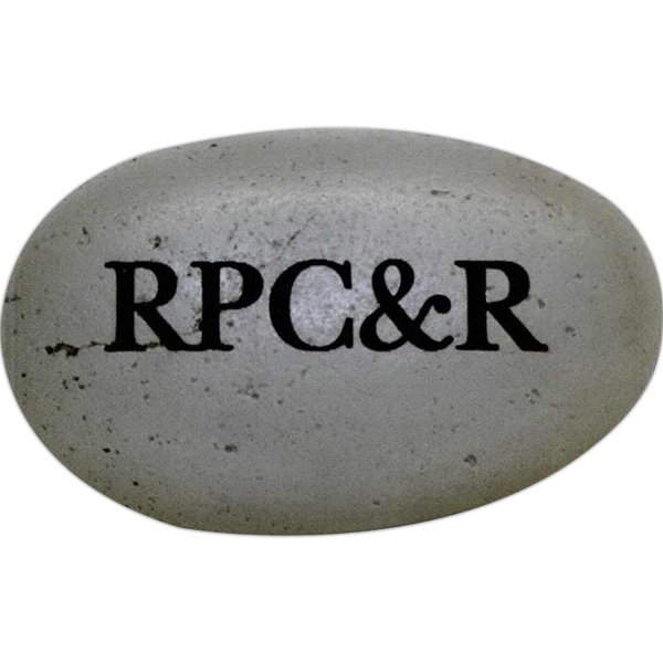 "2 3/4"" X 1 3/4"" - Skipping Stones Are Great As Paperweights,tradeshow Handouts,decorative Pieces,etc Photo"