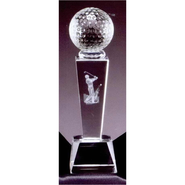 Golf Ball - Sport Crystal Awards Offer The Finest Awards To The Finest To Be Awarded Photo