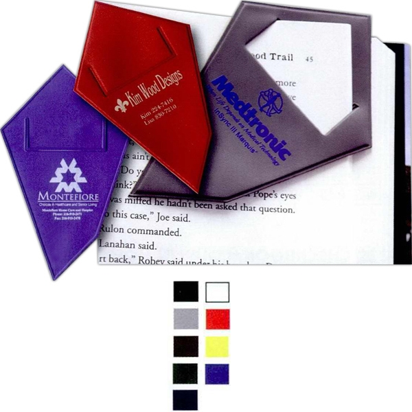 Edgemark - Premium Suedene Film Vinyl, Bookmark, Cut For Page Through Design Photo