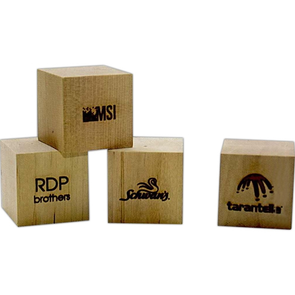 Toy Wood Blocks Made From Solid Birch With A Natural Finish Photo