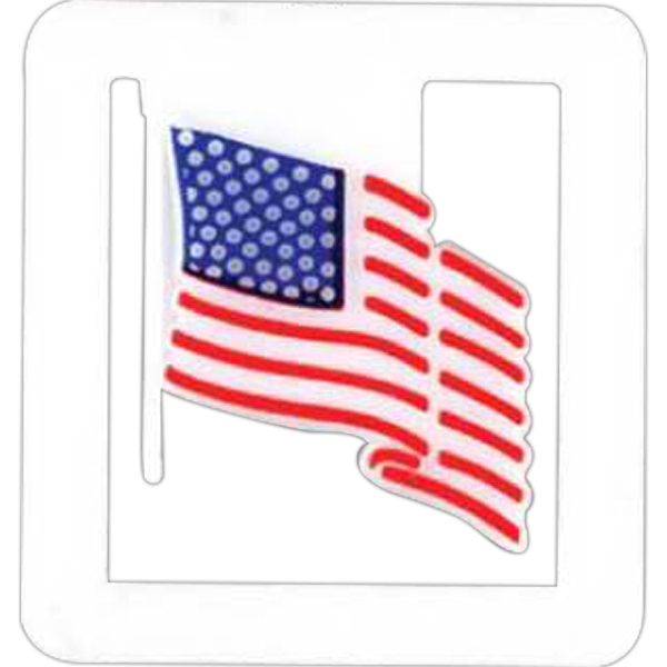 Patriotic Paper Clip Featuring The American Flag Photo