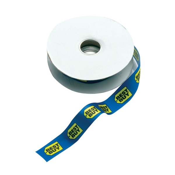 "7/8"" Dye-sublimated Satin Ribbon Spool Photo"