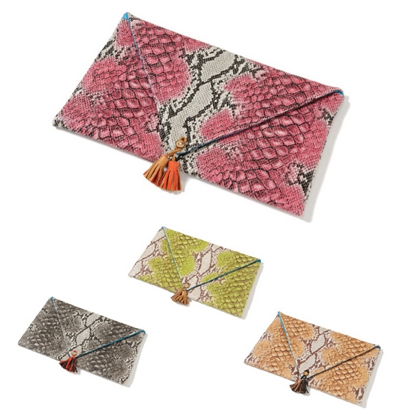"Page Collection - Envelope Clutch, 12.5"" X 8"" X 0.5"" Photo"