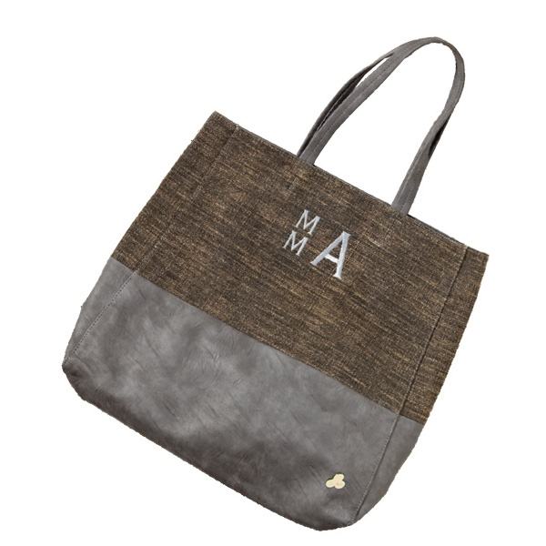 "Jemma Collection - Tweed Tote Bag, 14"" X 17"" X 3"" Photo"