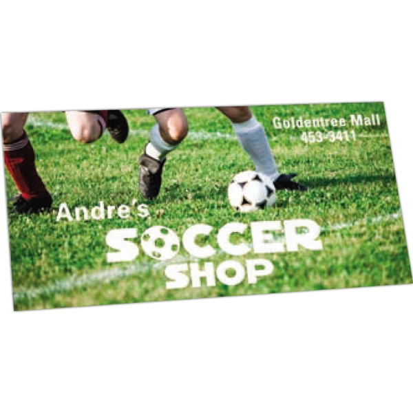 "Zip-strip (r) - Offset Full Color - Full Color Vinyl Bumper Sticker With Ultra Removable Adhesive, 3 3/4"" X 7 1/2"" Photo"