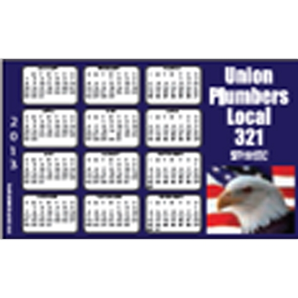 "Full Color Calendar Magnet With 1 3/4"" X 3 3/4"" Imprint Area Photo"