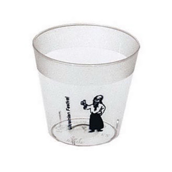 500 Line - Clear 1 Oz. Shot Glass Photo