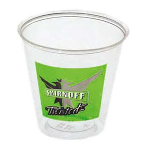 500 Line - Crystal Clear 3.5 Oz. Polystyrene Cup Photo