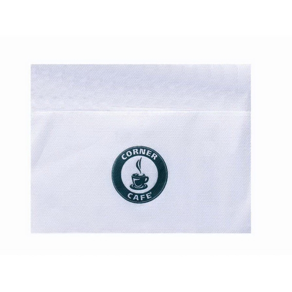 "500 Line - Bleached Single Ply, 3/4 Fold Dispenser Napkin, 5"" X 6.5"" Photo"