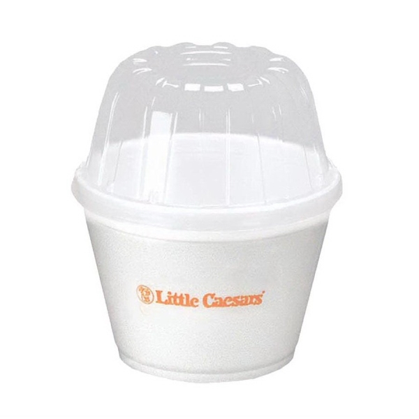 500 Line - Foam 16 Oz. To-go Container Photo