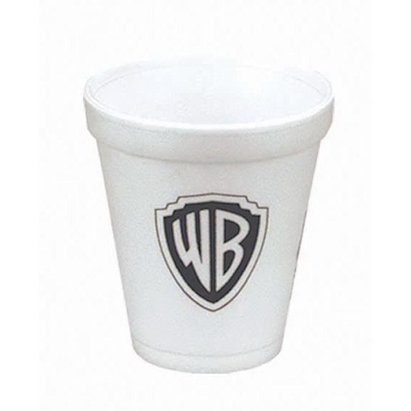 High Lines - Foam 8 Oz. Hot Or Cold Cups, Product Can Be Recycled Photo