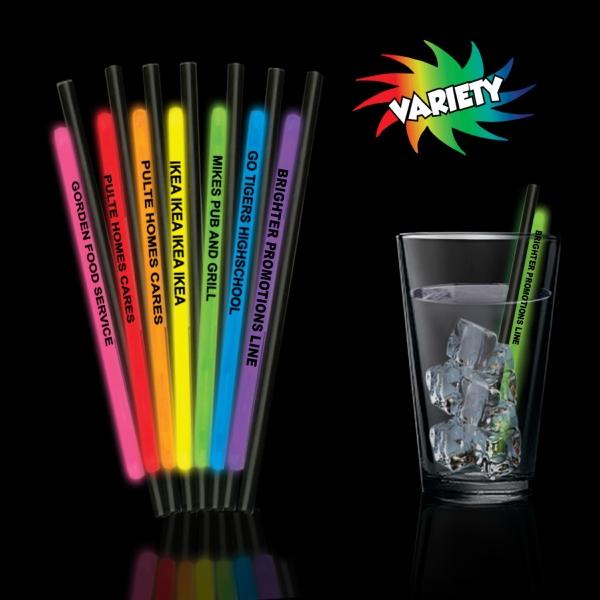 """9"""" Light Up Glow Straw"""
