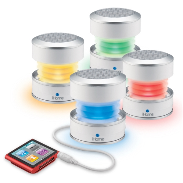 Rechargeable Color Changing Mini Speaker