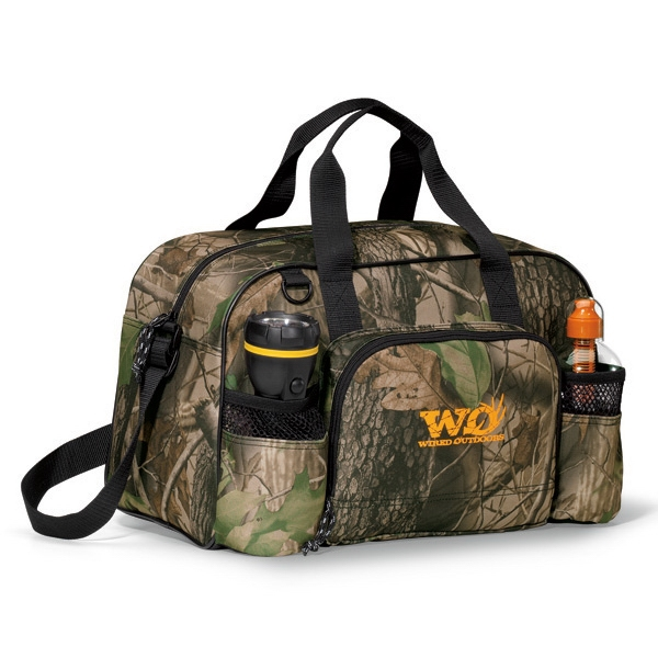 Apex Forest Camo Sport Bag