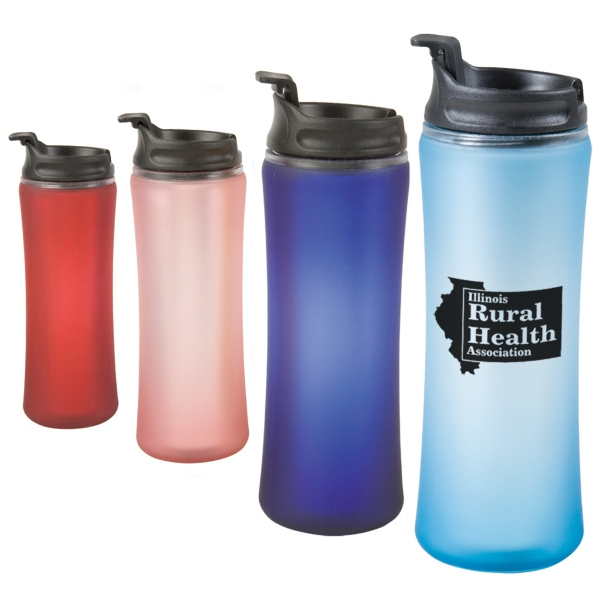 Laguna - 14 Oz. Travel Tumbler With Spill Proof Cap. Closeout Photo
