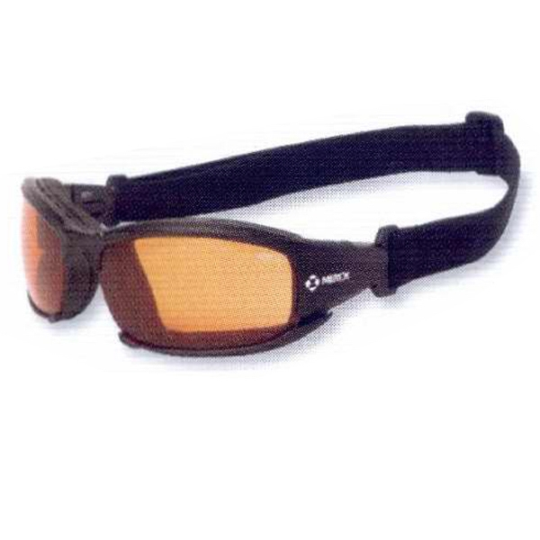 Cefiro - Orange Lens - Safety/recreational Glasses With Anti-fog Lenses Photo