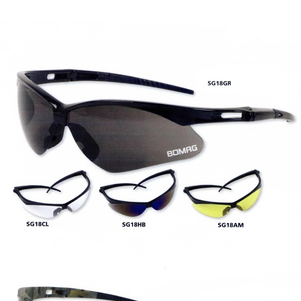 Anser - Gray Lens - Safety Glasses Designed With Lightweight Comfort And Protection Photo